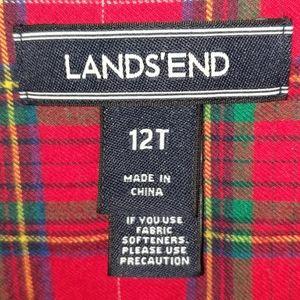 Lands' End Tops - Land End flannel shirt
